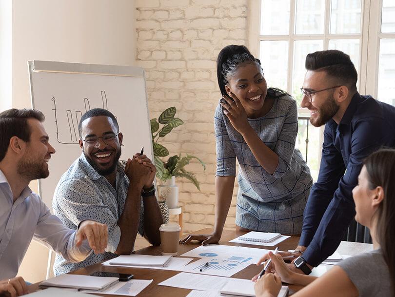 Collaboration et esprit d'équipe