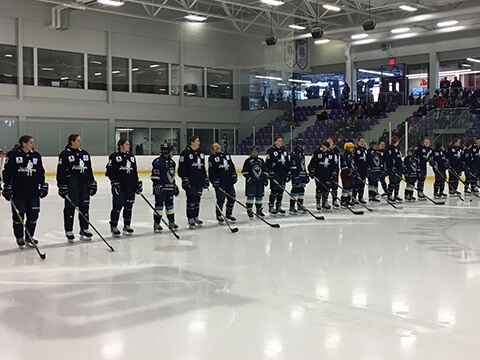 Partenariat avec Hockey Canada
